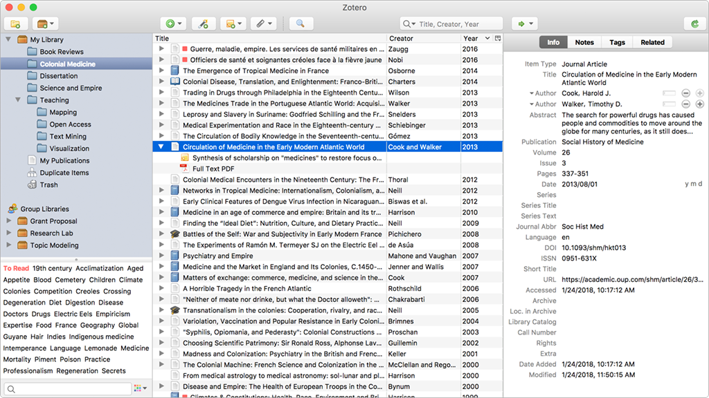 The Ultimate Guide for Medical Manuscript Writing zotero