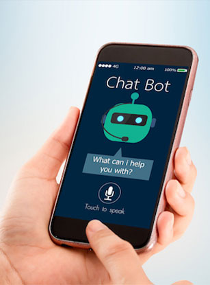 Chatbots fill the mental health care gap